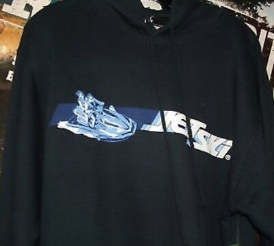 Kawasaki Jet Ski Slice Navy XL Sweatshirt New! KMJAV-SLNV-XL