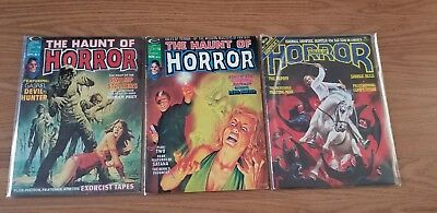 The Haunt Of Horror, And Halls Of Horror Magazine Lot
