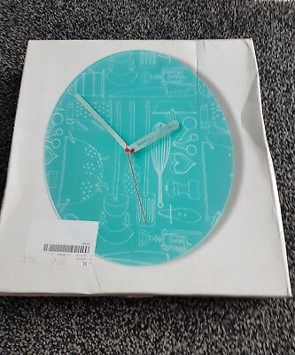 Glass Kitchen Clock