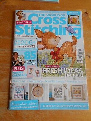 The World of Cross Stitching Issue 257