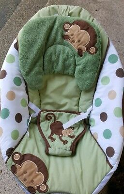 Sassy Pop Monkey Bouncer Monkey Seat Cover Replacement Part