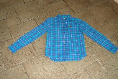 Lyle and Scott Shirt Age 10-11 Years
