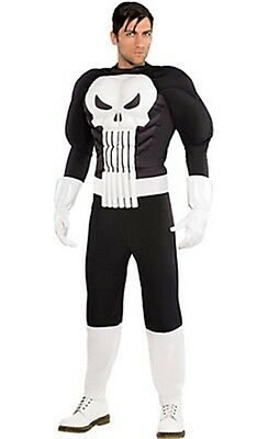 The Punisher War Zone Adult Costume Marvel Comics Brand New PLUS SIZE PC974