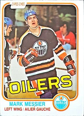 1981-82 O-Pee-Chee #118 Mark Messier 2nd YR Edmonton Oilers**FREE COMBINE SHIP*