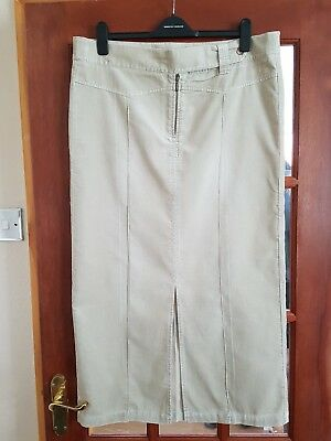 Ladies Next Long Maternity Skirt with Adjustable Waist, Size 12, Excellent Con