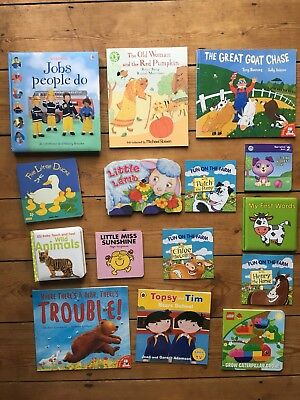 Children's Book Bundle Baby Board Book Story Books  Bedtime Usborne Book (97)