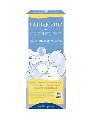 Natracare Organic Maternity Pads - Pack of 10 Pads 1 Pack of 10 Pads