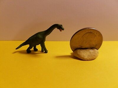 Dollhouse Miniature Mini Toy Rubber Long-necked Dinosaur 🦕