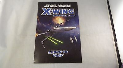 Star Wars X-Wing Booklet