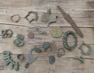 Collection of Ancient Celtic to Medieval Artefacts-British Detecting Finds