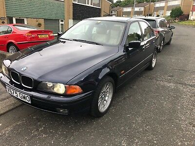 BMW 528i SE e39 auto with 91K FULL history plus many factory fitted options