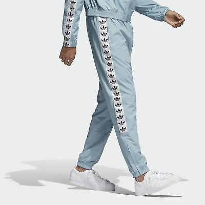 ADIDAS ORIGINALS TNT Tape Wind Pants Ash Grey (baby blue) NWT MED Reg $85!