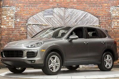 Porsche Cayenne V6 AWD Tiptronic S 16 Pano Roof Bose Surround Premium Pkg 19 Inch Design II Wheels