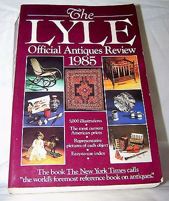 The LYLE Official Antiques Review 1985-Paperback
