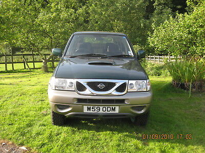 Nissan Terrano 2 7 seater with fitted towbar.