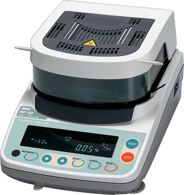 A&D MF50 Moisture Analyzer  (DEMO UNIT)