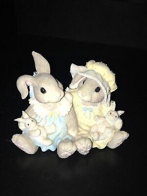 """My Blushing Bunnies """"I'm Blessed To Have A Friend Like You"""" By Enesco"""