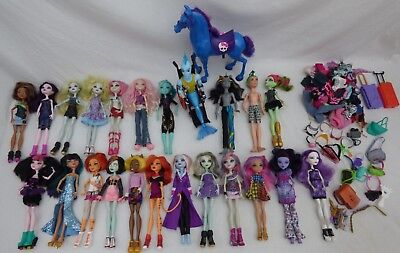Large Monster high dolls bundle Collection Boy Dolls & Accessories Clothes