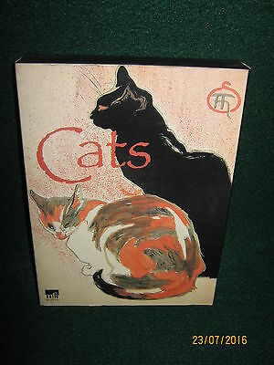 """CATS Note Cards """"The Metropolitan Museum of  Fine Arts""""  5 Sets of 4 Subjects."""