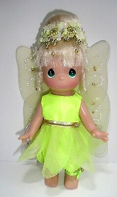"Precious Moments 9"" Tinkerbell Disney Vinyl Doll #3388 2007"