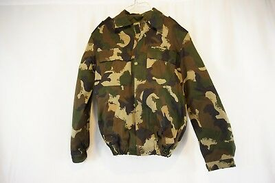 4de035ff33794 Hungarian Military Surplus Camo Hunting Jacket, Removable Quilted Liner, US  XS