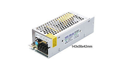 120-240V to 24VDC 4.2A, 100W, Open Frame Switching Power Supply - Ideal for LED