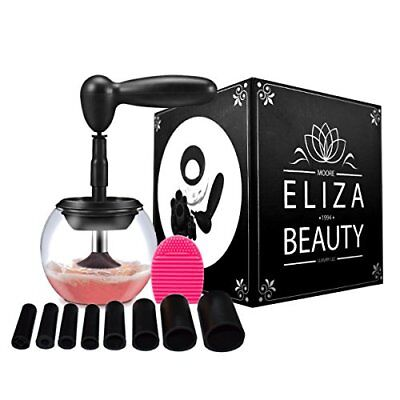 Eliza Beauty- Makeup Brush Cleaner Kit,Professional Portable Electric Cleaner