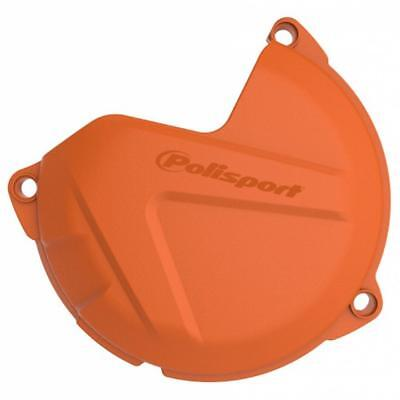 NEW Polisport Mx KTM 250/350 SXF 16-18 Orange Motocross Clutch Cover Protector