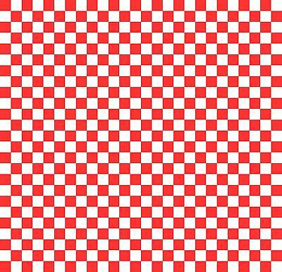 Wax Paper Basket Liners - Deli/BBQ Sandwich Wrap - Red/White Check - 50 Sheets