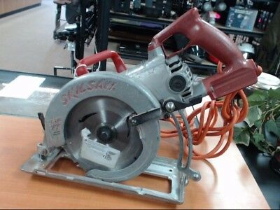 Skilsaw Mag 77 Hd77 Circular Saw With Extended 25' Cord. Skil Worm Drive