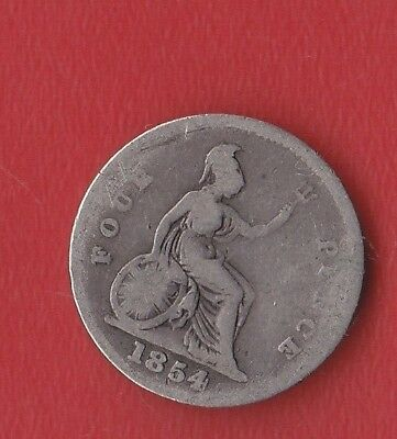 Great Britain 4 Pence 1854 Silver