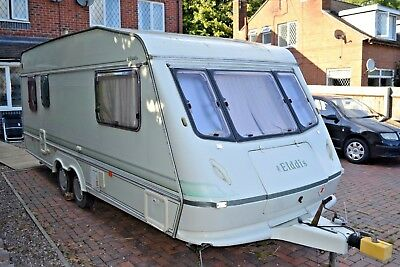 approx 1992/3 elddis 5 berth twin axle  caravan
