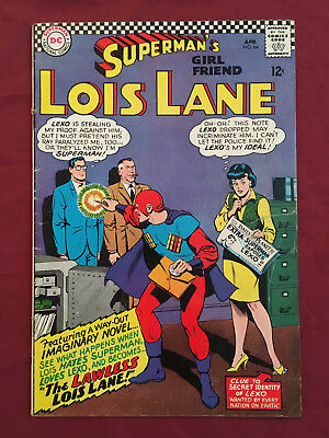 SUPERMAN'S GIRL FRIEND LOIS LANE 64 GD/VG (DC Comics 1966)