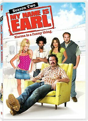 MY NAME IS EARL COMPLETE SERIES 2 DVD All Episodes Brand New Sealed UK Release