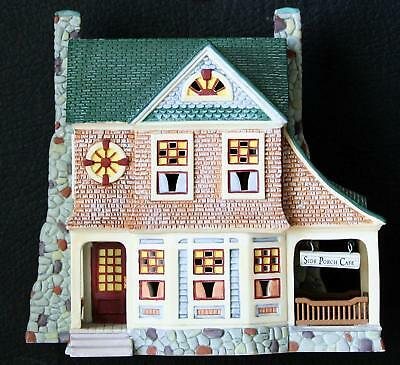 """Department 56 Seasons Bay """"The Side Porch Cafe"""" #53303, First Edition, NEW"""