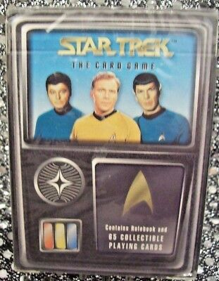 Star Trek: The Card Game [Tos] Fleer/skybox 1996 Starter Deck (65 Cards) Sealed!
