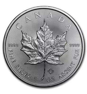 1 OUNCE SILVER MAPLE LEAF 2016 Canada #4