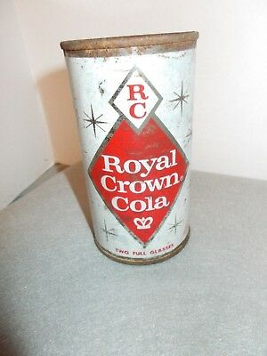 Vintage 1960s RC Royal Crown Cola Metal Pop Can