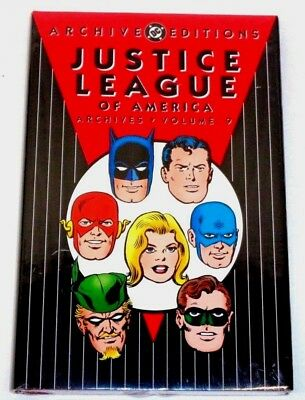 DC ARCHIVE EDITIONS JUSTICE LEAGUE of AMERICA vol 9 HARDCOVER (SEALED-UNREAD)
