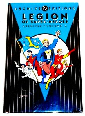 DC ARCHIVE EDITIONS Legion of Super-Heroes Volume 3 (SEALED-UNREAD) see more HCs