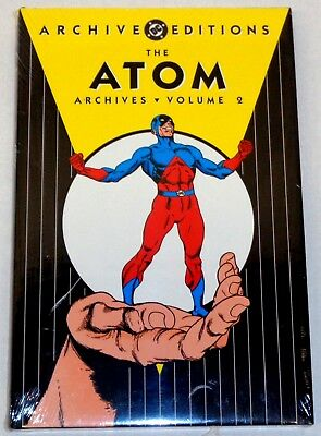 DC ARCHIVE EDITIONS THE ATOM Volume 2 (SEALED-UNREAD) Gil Kane GREAT AUCTION ON