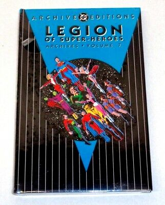 DC ARCHIVE EDITIONS Legion of Super-Heroes Volume 7 (SEALED-UNREAD) see more HCs