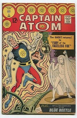 """CAPTAIN ATOM #86 """"FURY OF THE FACELESS FOE!"""" Steve Ditko GREAT AUCTION UNDERWAY"""