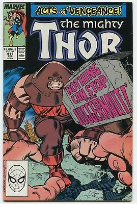 THOR #411 1st Appearance NEW WARRIORS KEY ISSUE see more GREAT AUCTION UNDERWAY