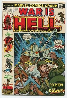 WAR IS HELL #1 MARVEL COMICS - see more COMICS TPBs HCs - GREAT AUCTION UNDERWAY