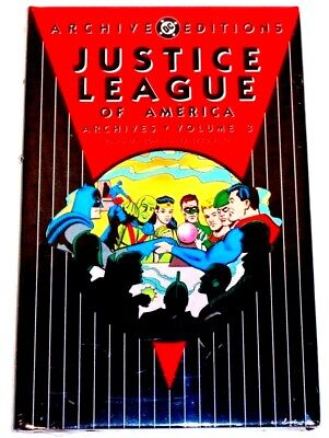 DC ARCHIVE EDITIONS  JUSTICE LEAGUE of AMERICA Volume 3 HARDCOVER SEALED-UNREAD