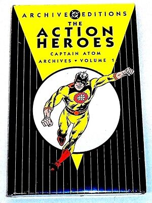 DC ARCHIVE EDITIONS ACTION HEROES CAPTAIN ATOM vol 1 HARDCOVER (SEALED-UNREAD)