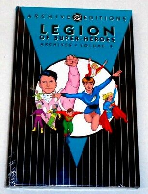 DC ARCHIVE EDITIONS Legion of Super-Heroes Volume 4 (SEALED-UNREAD) see more HCs