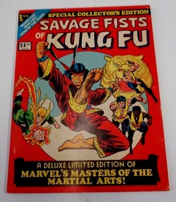 Savage Fists Of Kung-Fu Marvel Treasury Edition *great Auction Underway*