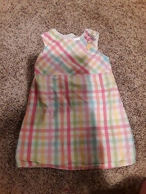 b5aec04305 Gymboree Dress Toddler Girls Size 3T Multi Color striped sleeve cotton  Jumper